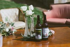 custom brew beers with personalized labels | White Dress Events