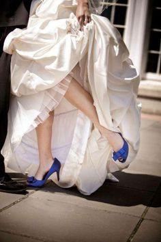 gekleurde schoenen