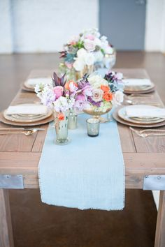 #tablescapes #color | Photography by IYQphotography.com, Design and Coordination by http://events306.com, Florals by https://www.facebook.com/newberrybros  Read more - http://www.stylemepretty.com/2011/09/07/bear-flag-farm-outdoor-wedding-from-zoom-photography/