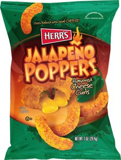 Jalapeno Popper Cheese Puffs!