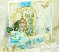 Mr & Mrs Wedding card by creativespell - Cards and Paper Crafts at Splitcoaststampers