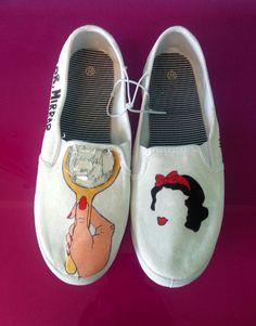Disney Hand Painted Shoe Ideas