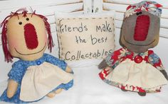 Primitive Doll Patterns, Rag Dolls, Projects To Try, Friends, Black, Fabric Dolls, Amigos, Cloth Art Dolls, Black People