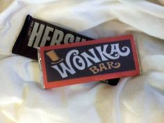Free Wonka Bar Wrapper Template