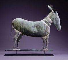 1890-1930 DONKEY WEATHERVANE | American Folk Art Museum