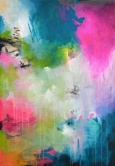 Possible style for large panels Original extra large abstract painting modern fine by ARTbyKirsten
