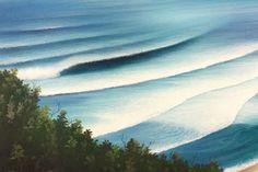 バリ サーフアート SILENT BEACH | サーフインテリア | | ISLAND STYLES