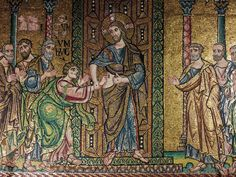 Nativity Church, Sunday Photos, 12th Century, Byzantine, Mosaic, Bethlehem, Norfolk, Painting, Twitter