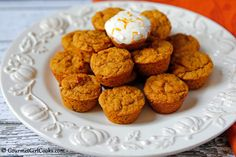 In The Kitchen With Honeyville: Almond Flour Pumpkin Spice Muffins