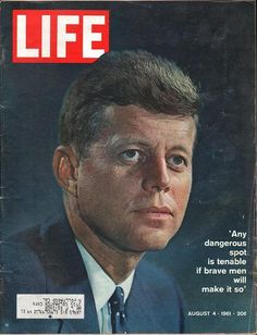 The Civil Rights, Woodstock, Vietnam and hippies. Life magazine covers are awesome which present original LIFE Magazines or vintage life magazines. Life Magazine, John F. Kennedy, Los Kennedy, Old Magazines, Vintage Magazines, American Presidents, American History, Life Cover, Tv Guide