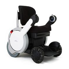A Beautifully Streamlined Wheelchair With Omni-Directional Wheels Controlled by an App