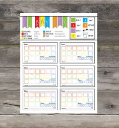21 Day Fix Cheat Sheet 1200  1499 by RossDigitalExpress on Etsy