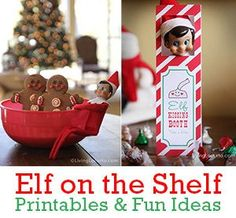 Elf on the Shelf Ideas and Printables for Christmas at Living Locurto