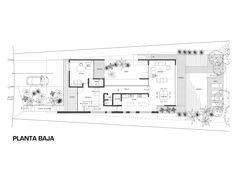 planos, Casa Michelle, Edgar Marin Best House Plans, House Floor Plans, 1 Story House, Modern Family House, Villa Plan, Two Bedroom House, Casa Patio, Floor Plan Layout, Contemporary House Plans