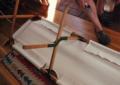 DIY: Vintage Army Cot | Flickr - Photo Sharing!