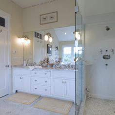 Lewis and Weldon Kitchens is Cape Cod's premier custom kitchen and bath designer. Offering endless design possibilities throughout your home. Custom Kitchens, Custom Cabinetry, Bath Design, Beautiful Bathrooms, Kitchen And Bath, Double Vanity, Master Bath, Design Ideas, Home Decor