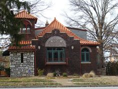 The most eclectic, adorable home in Holly Hills in South St. Louis.