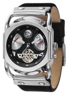 UNIQUE Diesel Watch DZ9017 JEANS Amazing Watches, Cool Watches, Watches For Men, Men's Watches, Armani Watches, Luxury Watches, Diesel Watch, Jimmy, Fossil Handbags