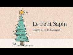 Conte de Noël - Le Petit Sapin d'Andersen - Français - YouTube Online Advent Calendar, Let It Snow, Let It Be, Film D, French Films, French Lessons, Christmas Art, Place Card Holders, Animation