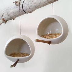 bird feeders | Stephanie Tokar