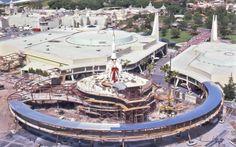 Building Tomorrowland Magic Kingdom Disneyworld