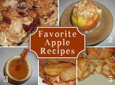 Favorite Fall Food Recipes with Apples and Pumpkin - Newlywed Survival