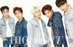 K pop boy group SHINee is featured in the upcoming issue of the fashion publication High Cut Magazine. The boys are dressed in casual outfits in their latest photoshoot, garnering much attention with their energetic and youthful charm. Shinee Jonghyun, Lee Taemin, K Pop, Shinee World V, Shinee Members, Choi Min Ho, Kim Kibum, Korean Entertainment, Block B