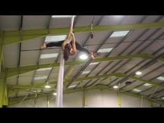 30 minutes Aerial Silks workout - YouTube