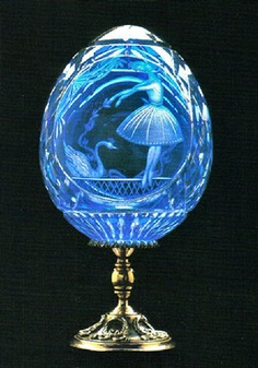 Faberge Swan Lake Ballet Egg ~Happy Easter to all ~Amylh~