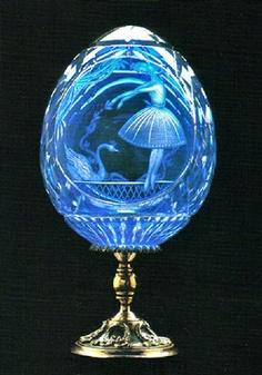 Faberge Swan Lake Ballet Egg ~Happy Easter to all ~Amylh~ Fabrege Eggs, Tsar Nicolas, Swan Lake Ballet, Faberge Jewelry, Egg Art, Objet D'art, Egg Decorating, Art Object, Art Nouveau