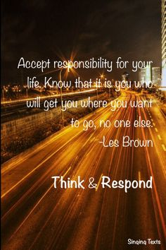 Les Brown. Quote. Life.