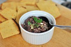 Recipe: Kalamata Olive Tapenade with Shallots