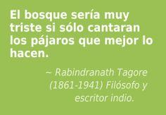 Rabindranath Tagore (1861-1941) Filósofo y escritor indio.