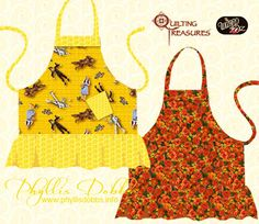 Sew an apron! This Apron pattern designed by Phyllis Dobbs available for free dowload.