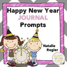 "$ Need ideas to get your students writing? Promote writing with these happy new year journal writing prompts.  The ""Happy New Year Journal Prompts"" package contains 25 writing prompts that you can use to support the development of your students' writing skills."