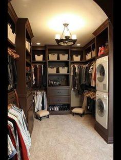 Laundry room organizing!