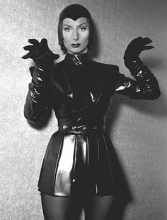 """Patricia Laffan as """"The Devil Girl From Mars"""""""