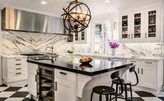 This kitchen-remodel definitely deserve a like!