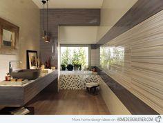 15 Creative Bathroom Tiles Ideas