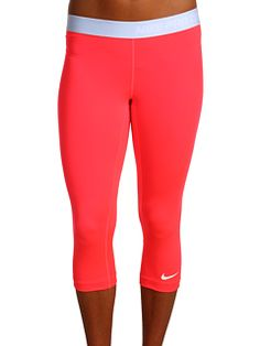 I want these in every color. Nike pink yoga pants