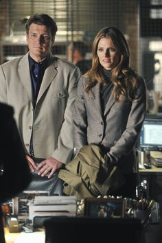Episode 523: The Human Factor Carlos Bernard guest stars as Jared Stack, a mysterious operative who may hold the key to solving the case. (ABC/Richard Foreman) NATHAN FILLION, STANA KATIC