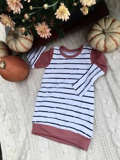 Tunic, baby tunic, toddler tunic, todder dress, baby dress, modern baby clothes, modern toddler clothes, baby shower gift, striped tunic