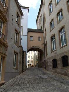 The Grund in luxembourg City