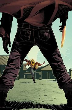 Wolverine vs Sabertooth by Kalman Andrasofszky *