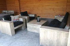 steigerhout loungeset zelf gemaakt