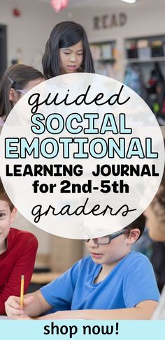 This social emotional learning warm-up journal includes guided SEL questions and prompts, with visual supports, designed for students in grades 2-5 grade. They are best used when implemented regularly and reviewed and debriefed in some way. Social Emotional Development, Social Emotional Learning, Coping Skills, Social Skills, School Psychology, Psychology Resources, Special Needs Students, Self Exploration, Student Behavior