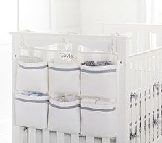 Harper End of Crib Storage #pbkids - an interesting product. wait and see if would be handy