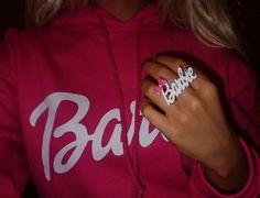 Barbie sweatshirt!!! I want one!