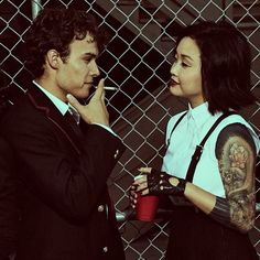 Saya and Marcus. Deadly Class