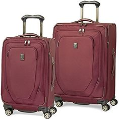 Travelpro Crew 10 2 Piece Spinner Luggage Set 25 and 21  http://www.alltravelbag.com/travelpro-crew-10-2-piece-spinner-luggage-set-25-and-21/